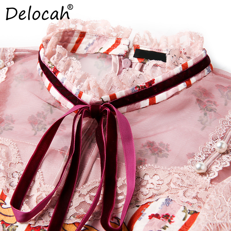 Летнее модное платье для женщин трапециевидной формы с цветочным принтом вечерние повседневные винтажные платья Элегантное женское плать... - 4