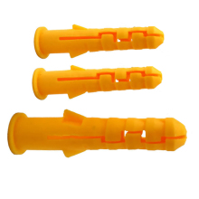 300 шт. пластиковая труба расширения трубы саморезы настенные анкеры Сверление дерева вилки пластиковые расширения с металлическим винтом комплект