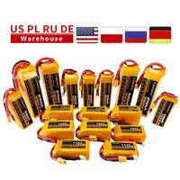 Batteria TCBWORTH 7.4V 11.1V 14.8V 22.2V RC LiPo 1300 2200 3300 4200 5200 6000mAh 25C 35C 60C per RC aereo Drone Quadrotor