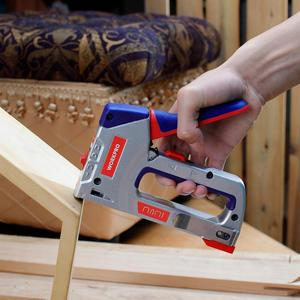 Image 5 - WORKPRO 4 IN 1 Heavy Duty Staple Gun for DIY Home Decoration Furniture Stapler Manual Nail Gun with 4000 Staples Nailer