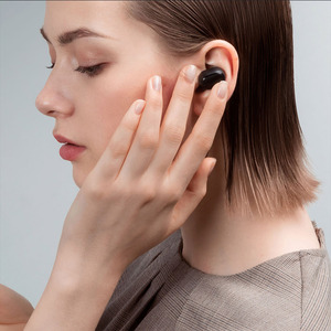 Image 4 - Xiaomi Redmi Airdots 2 TWS Bluetooth kablosuz kulaklık Stereo bas kulakiçi sesli kumanda BT 5.0 gürültü azaltma musluk AI kontrolü