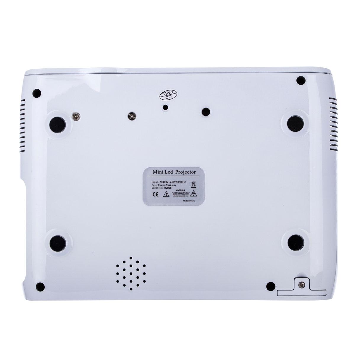 Multimedia 4K 1080P WiFi Android Bluetooth 3D HA CONDOTTO il Proiettore Home Cinema Supporta Orizzontale e Verticale di Vibrazione di Alta Qualità - 4