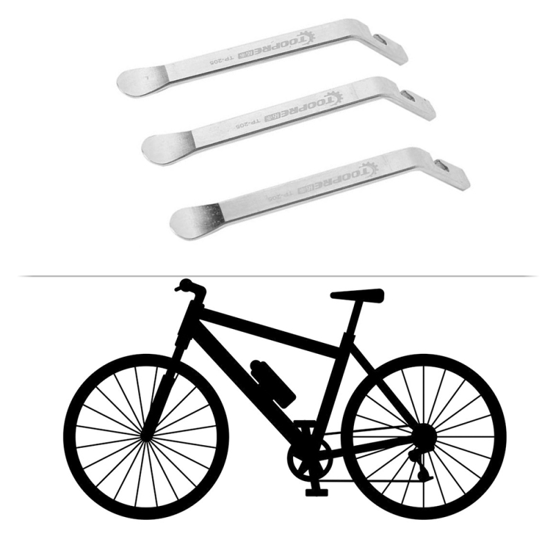 Stainless Steel Silver Curved Tyre Tire Lever Repair Bicycle Tools Bicycle H9Q9