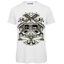 T-Shirt Divertente Uomo Maglietta Con Stampa Nerd Vintage Videogames Tuned O-Neck T Shirt Homme Short-Sleeved Print Letters