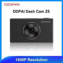 Ddpai traço cam mola z5 câmera do carro dvr 1600p tela de toque hd monitor estacionamento adas unidade android wifi gravador de vídeo automático veículo