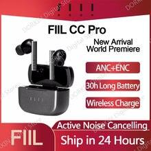 Nowy Arrivial FIIL CC Pro TWS Bluetooth 5.2 słuchawki douszne podwójna redukcja szumów prawdziwie bezprzewodowe słuchawki szybkie ładowanie ANC ENC zestaw słuchawkowy