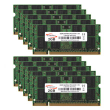 10pcs 2GB PC2-5300S RAM DDR2 667Mhz 204pin SODIMM Laptop Memory For Samsung Kits