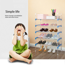 shoe rack organizer 5 Layers Stand Rack Solid Shelves room Modern 3 Multi-layers Shoe Living Multi-functional Bedroom Storage