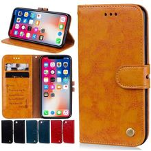 Simple Style Business Flip Cover For Apple iphone 7 8 6 6S Plus 5 5s X XS XR 11 Pro Max Case Wallet Leather Capa Brand New P17F