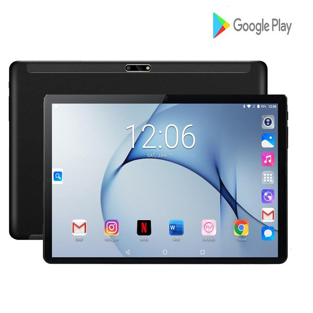 2020 New Original 10 Inch Tablet PC Android 7.0 MTK Octa Core 2GB RAM 32GB ROM 8MP Dual Camera Sim WIFI 3G WIFI Tablets 10.1