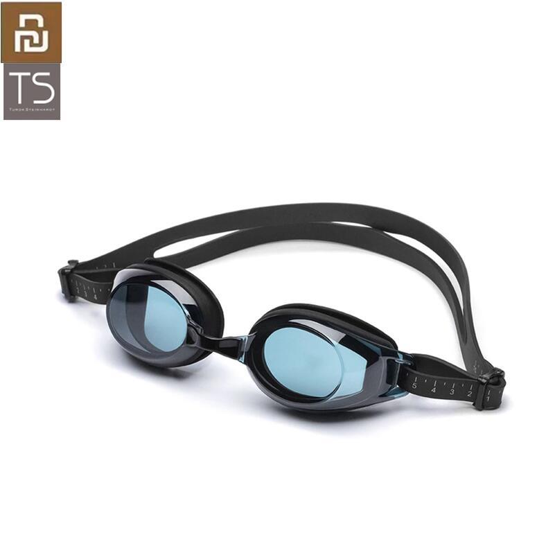Очки для плавания Youpin TS, очки для плавания HD, незапотевающие, 3 сменных носоупора с силиконовой прокладкой