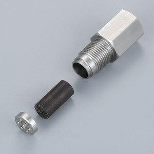 Image 4 - Yetaha 2 pièces CEL éliminateur avec Mini convertisseur catalytique pour M18 X 1.5 filetage O2 capteur entretoises moteur lumière