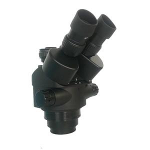 Image 3 - 3.5X 90X لحام مجهر ستيريو ثلاثي العينيات + SMD 38MP HDMI كاميرا فيديو USB رقمية + LCD 8 بوصة PCB مراقب + 144 Led أضواء
