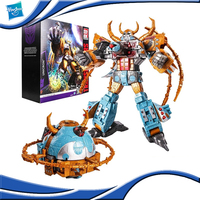 Hasbro Transformers Ultimate Level Platinum Series Idw Classic Villain Unicron Optimus Prime Limited Assembled Model Toys Gift