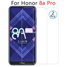 case for honor 8a pro case on for huawei honor8a pro 8 a a8 8apro back cover cases protective phone coque tempered glass 6.09 9h(China)