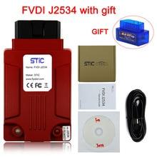 FVDI J2534 Support Online Module Programming Multi Language Original J2534 FVDI Works ELM327 SAE J2534