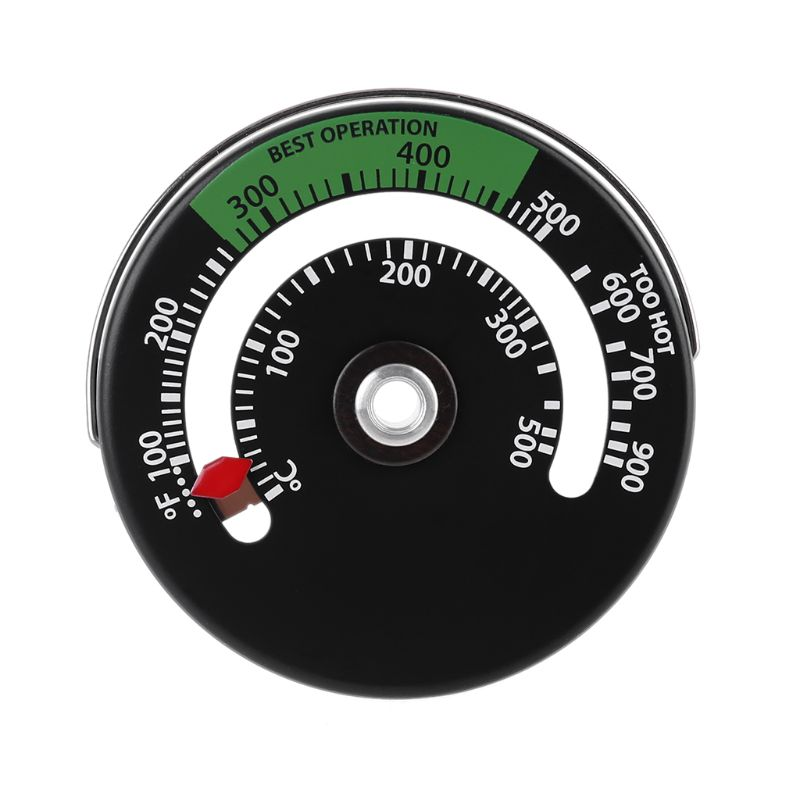 Magnetic Stove Thermometer Fire Place Temperature Monitor Increase Efficiency