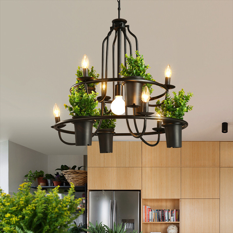 Japan Industrial Lamp Lampen Industrieel Rope  Living Room  Home Decoration E27 Light Fixture Hanging Ceiling Lamps Deco Maison