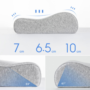 Image 4 - Xiaomi Mijia Antibacterial Neck Protection Pillow Neck Pain Memory Cotton Pillow Breathable for Sleeping Relaxation Pillows