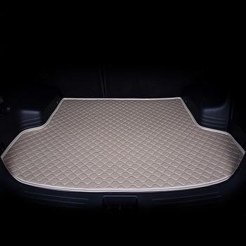Dedicated Car Trunk for Great Wall M4 H1 M1 H6 C30 C50 Harvard Carpets Waterproof Non Slip Rugs No Odor Pads