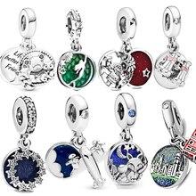 Jewelry Charms Bracelet Fox 925-Sterling-Silver Mermaid-Dazzling Friends Bear Original Pandora