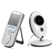 Kamera dla niemowląt domofon walkie-talkie Radio wideo niania Audio VB605 muzyka IR przenośna kamera bezprzewodowa z monitorem kamera dla psa
