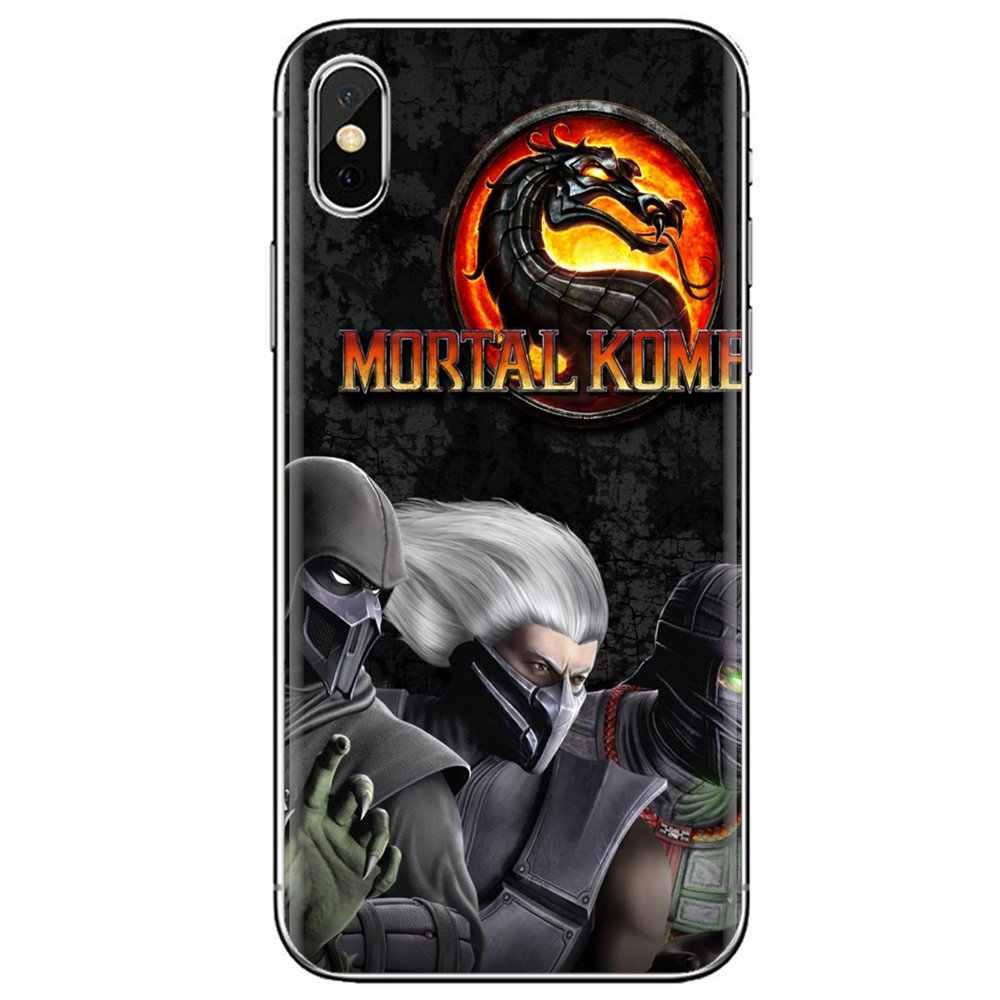 สำหรับ HUAWEI Mate Honor 4C 5C 5X6X7 7A 7C 8 9 10 8C 8X20 lite Pro Mortal Kombat X SCORPION Ninja ซิลิโคนโทรศัพท์ SHELL COVER