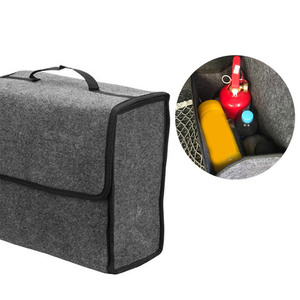 Image 3 - سيارة المنظم حقيبة سيارة التخزين المنظم متعددة الأغراض سيارة جذع المنظم سيارة صندوق تخزين سعة كبيرة للطي حقيبة التخزين