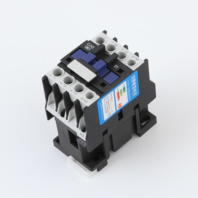 CJX2-3201 AC Contactor 3 Phase 3-Pole Coil Voltage 380V 50//60HZ
