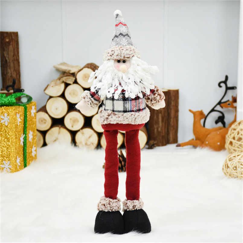Decorazioni di natale per la Casa Dolls regalo di Natale Capodanno Regali Di Compleanno per Gli Amanti Amici di Famiglia A Scomparsa Del Basamento Figure Giocattolo Natal