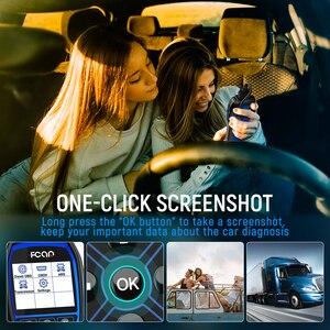 Image 4 - FCAR F507 OBD2 Diagnostic Tools Erase Codes Reader Read ECU Engine ABS Transmission Heavy Duty Truck Free Update Car Scan Tool