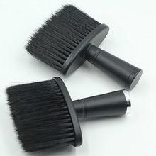 Escova de cabelo macio pescoço rosto espanador cabeleireiro corte de cabelo escova de limpeza para barbeiro cabeleireiro ferramentas estilo