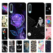Case For Sony Xperia 5 J9210 Cover Silicone Soft TPU Flower fundas For Sony Xperia 1 Case J9110 Phone Case Coque Xperia1 Xperia5 anunob 6 5 cover for sony xperia 10 plus case silicone painted funda soft tpu phone case for sony 10plus back cover coque