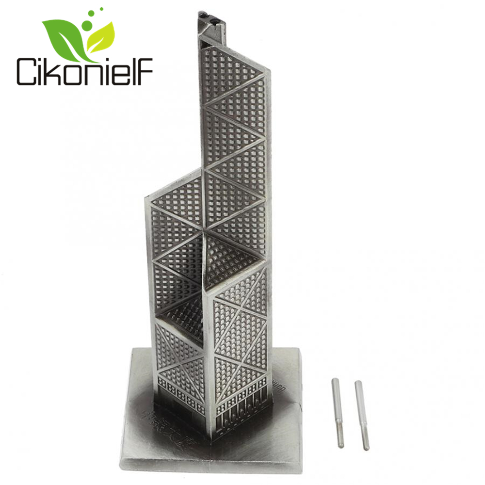 Miniature Figurines World Well-known Architecture China Tower Model Home Furnishing Ornaments title=