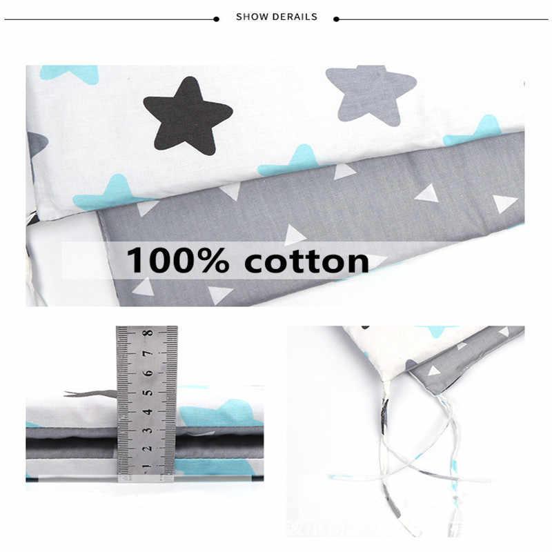 150cm * 30cm nordique étoiles Design bébé lit épaissir pare-chocs une-pièce berceau autour de coussin lit protecteur oreillers nouveau-nés chambre décor