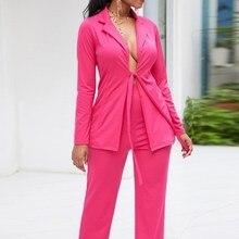 2019 Spring Autumn Office Women Work Suit Set Office Lady Se