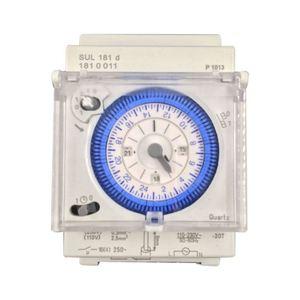 Аналоговый механический таймер переключатель 110V-220V 24 часа в сутки программируемый 15 минимальное время установки реле SUL181D Лидер продаж