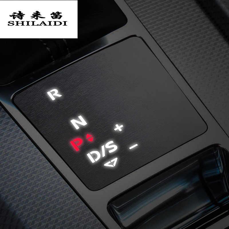 Wcnsxs Accessori per Auto Guida a Sinistra per Audi A6 C8 2019 Copertura Decorativa per Il Controllo Centrale Interni in Fibra di Carbonio per Interni