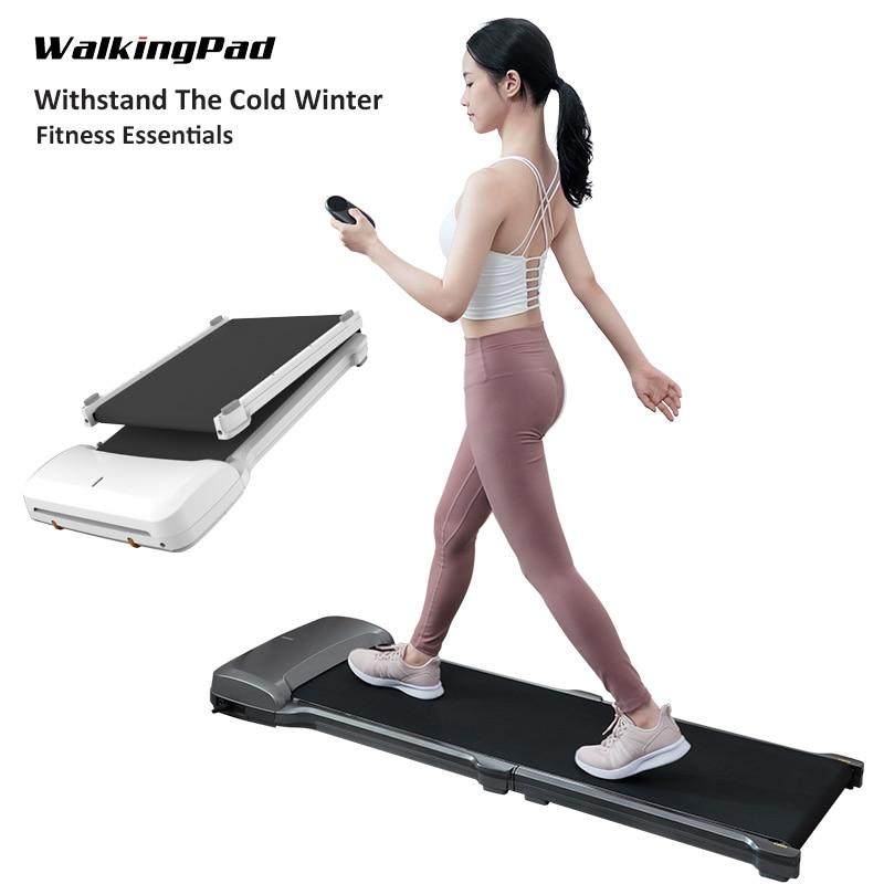 Cinta caminadora WalkingPad C1, aparato de entrenamiento plegable, cinta transportadora, máquina de andar, ejercicio aeróbico, equipo para entrenamiento deportivo doméstico Cintas de correr  - AliExpress