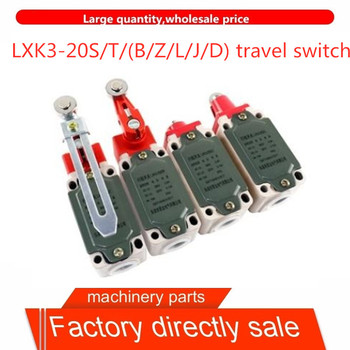 Direct selling LXK3-20S/T travel switch/B/Z/J/D/L limit switch automatic reset adjustable roller rotary arm micro switch image