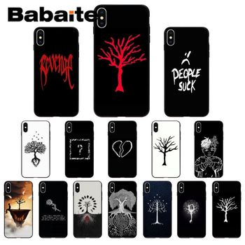 XXXTENTACION The Tree of Life Tattoo Cute Phone Accessories Case for iPhone 8 7 11pro 6 6S Plus X XS MAX 5 5S SE XR Mobile Cover image