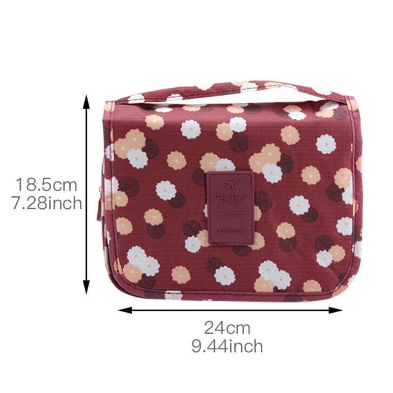 Personal Hygiene Bag Fashion Makeup Travel Bags High Capacity Travel Organizer Bathroom Washing Classification Hanging Bag