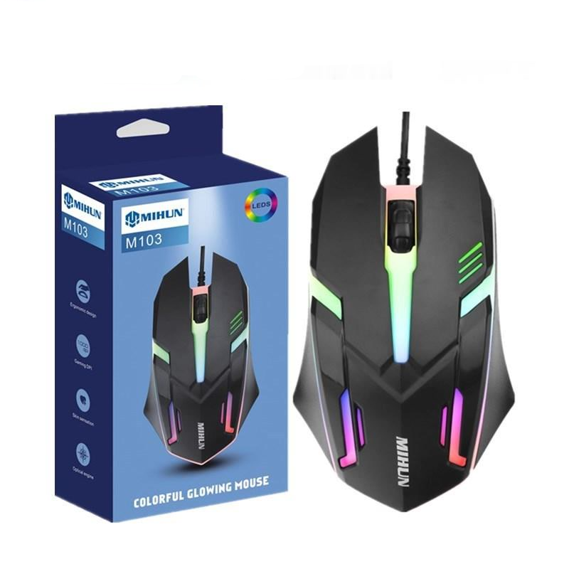 USB wired ergonomics! photoelectric Gaming mouse, cool backlit male game giftused for notebook computers, office, gamers