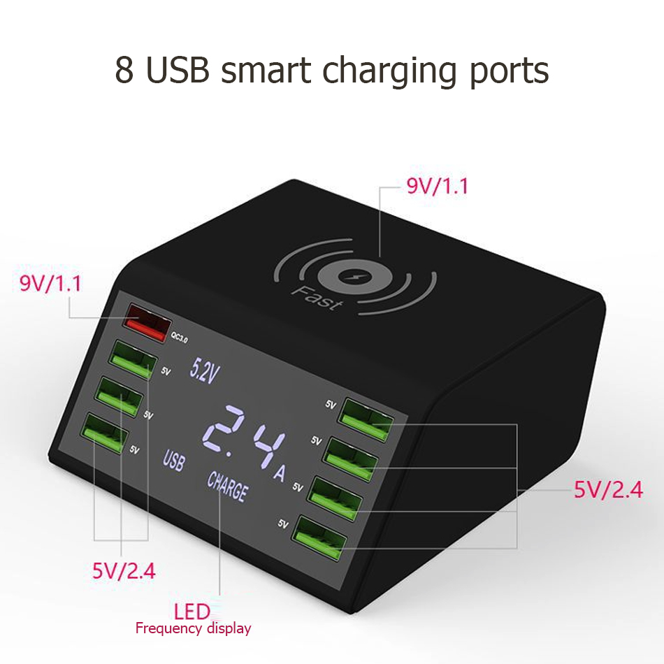 Fast LCD Charger X 5