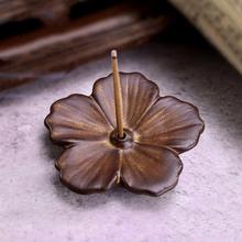 Sandalwood Incense Stick Holder Porcelain Seat Fragrance Scent Aromatherapy Fresh Air Aroma Spice