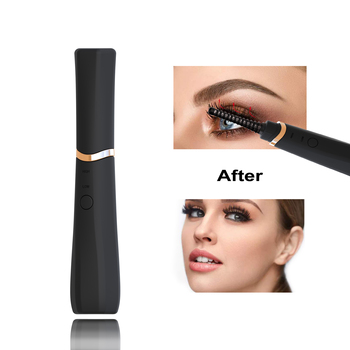 TinWong New Electric Eyelash Curler USB Rechargeable Portable Heated Eyelash Curler Long-Lasting Electric Eyelash Curler Device недорого