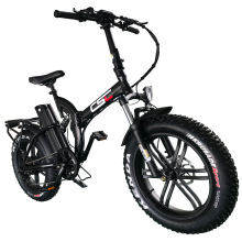 Snow-Ebike Hub-Motor Electric-Bike Foldable 500W Mini 20in 48V Fat Hydraulic-Disc-Brake