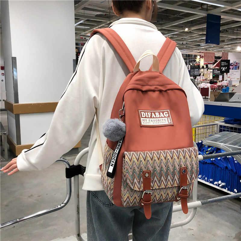 Buckle Backpacks For Girls