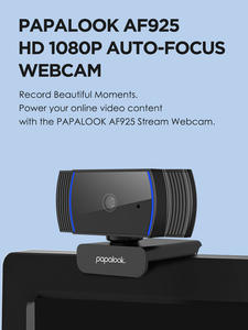 PAPALOOK AF925 1080P Full HD Autofocus Webcam With Noise Reduction Mic USB Web Camera