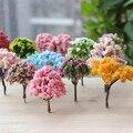 Миниатюрная Рождественская елка BAIUFOR, имитация растений, цветные елки, Кленовая вишня, «сделай сам», фигурки террариумов, мини-декор для сад...